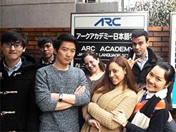 アークアカデミー日本語学校見学会