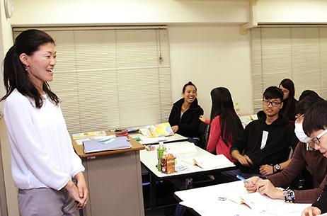 日本語教育の現場を体験できる